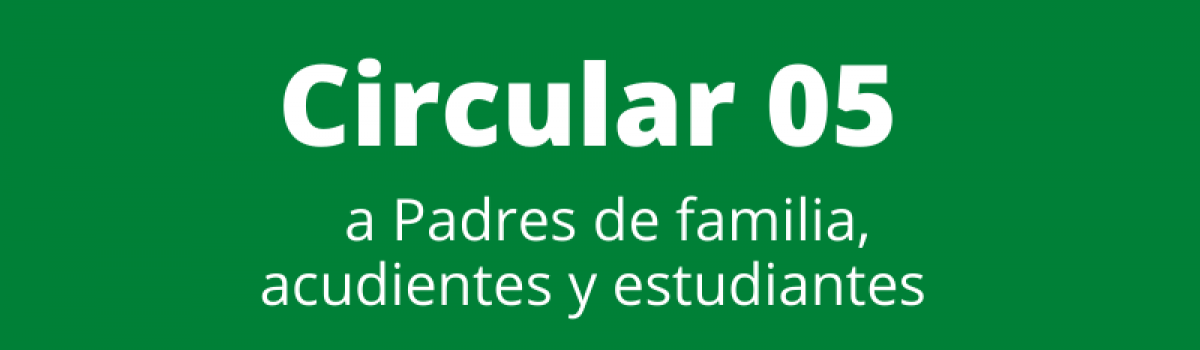 Circular 05